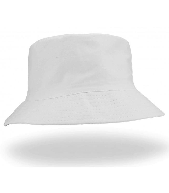 HW-BSH Unisex White Sun Hat