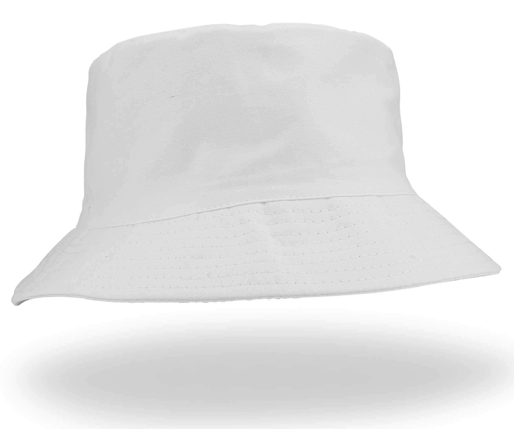 2b31680adb9 Unisex White Sun Hat - Emsmorn Bowlswear