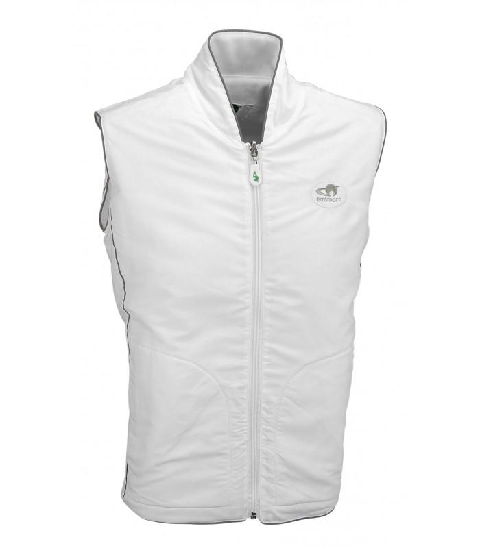 OW-FLG White Fleece Reversible Gilet
