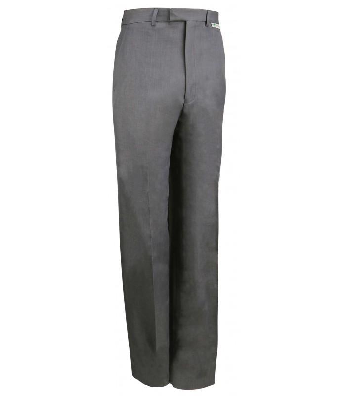 MW-TRGX Men's Stretch Grey Bowls Trousers [Teflon coated]