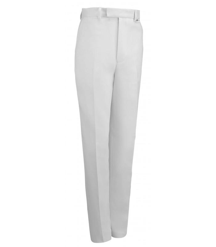 MW-TRW Men's White Bowls Trousers [Teflon coated]